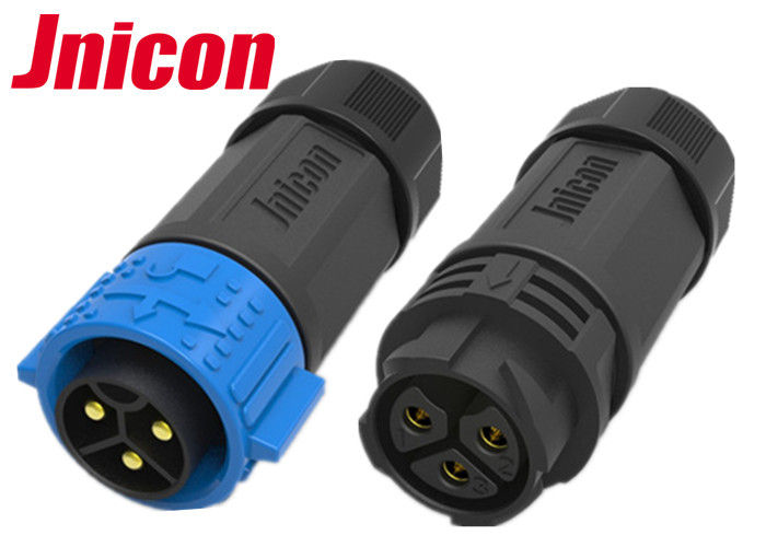 Cable To Cable Waterproof Male Female Connector M25 3 Pin Push locking