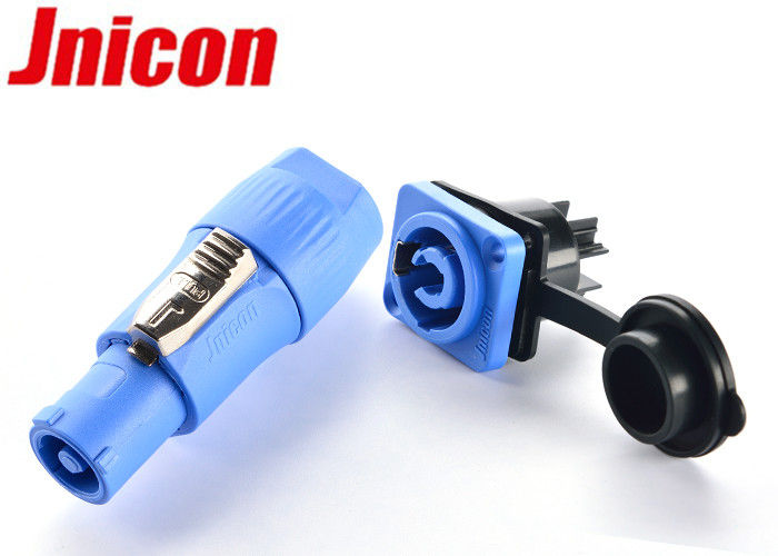 Outdoor LED Screen Waterproof Power Connector , IP65 Powercon Connector